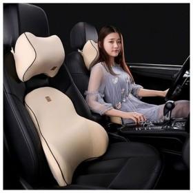 行车必备-汽车头枕腰靠记忆棉护颈枕装饰