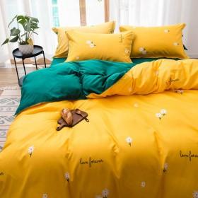 四件套床单被套亲肤床上用品男女单人床学生宿舍