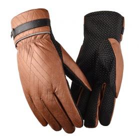 男士骑行保暖手套