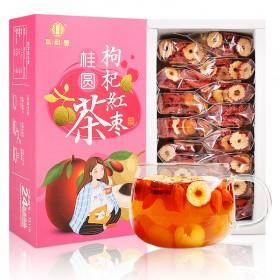 买一送一红枣桂圆枸杞茶花茶
