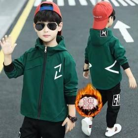 童装男童外套韩版儿童春秋风衣夹克开衫冲锋衣潮衣