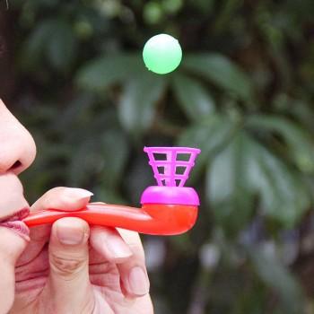 创意80后怀旧悬空悬浮吹球玩具小学生儿童小礼地摊货
