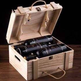 红酒整箱法国进口干红葡萄酒750ml6瓶