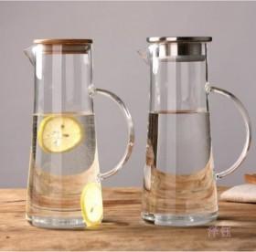 耐热玻璃冷水壶大容量果汁杯防爆防烫家用凉白开
