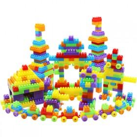 大颗粒塑料积木玩具