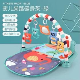 婴儿玩具健身架器脚踏琴0-1岁宝宝儿童
