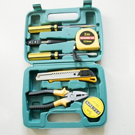 铬克五金工具箱套装日常家用电工专用