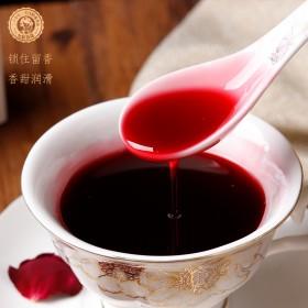 云南特产玫瑰花原浆食用玫瑰露635g 浓缩果汁冲水