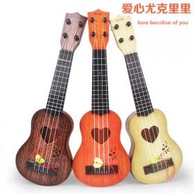 儿童小号乐器仿真尤克里里迷你四弦可弹奏启蒙早教音乐