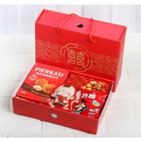 结婚礼品喜糖回礼礼盒装成品含糖果大礼包婚礼订婚伴手