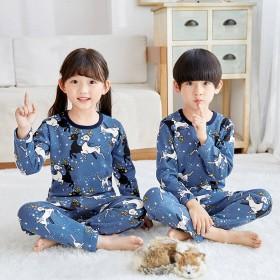 儿童加绒加厚保暖内衣套装男女童冬季内衣两件套