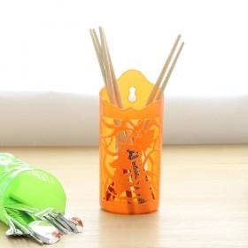 简约优质环保塑料筷子笼厨房餐具收纳筷子筒镂空沥水