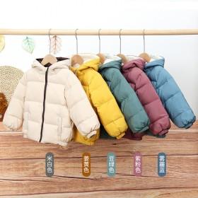 网红新款儿童羽绒服中小童韩版童装羽绒服