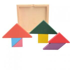 百变磁性七巧板儿童益智拼图套装