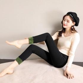 乳木果润肤裤打底裤女外穿秋冬季加绒加厚保暖高腰弹力