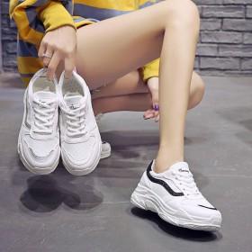 小白鞋透气网鞋2019夏季新款鞋子女学生韩版百搭i
