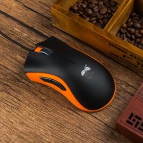 有线USB游戏办公电竞鼠标电脑笔记本发光鼠标吃鸡