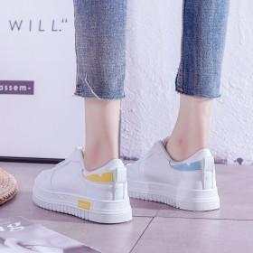 基礎女鞋子女2019新款百搭韓版學生小白鞋秋季ch