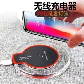 iphone无线充电器苹果X快充安卓qi发射器OP