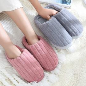家用室內冬季棉拖鞋家居情侶防滑可愛加厚半包跟宿舍防