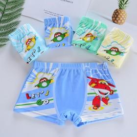 男女孩多款4条儿童内裤平角四角裤男童内裤可爱卡通女