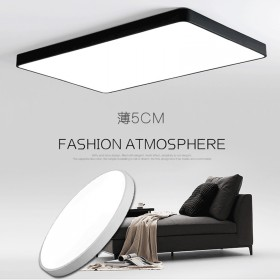 超薄LED吸顶灯客厅卧室超亮办公室灯长方形平板