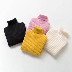 女童毛衣仿水貂绒加厚针织衫打底衫