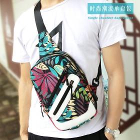 新款包包斜挎韓版女學生書包帆布男士迷你小背包單肩包