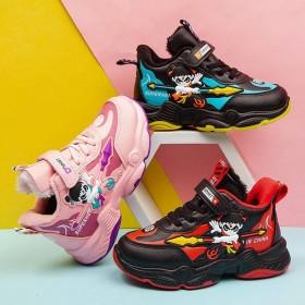 童鞋加绒加厚儿童运动鞋棉鞋保暖鞋女童魔术贴休闲鞋