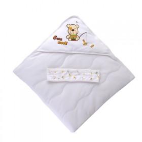 婴儿抱被纯棉新生儿包被春秋婴儿用品秋冬