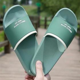 休新品涼拖鞋女夏季男士情侶室內外穿防滑軟底浴室洗澡