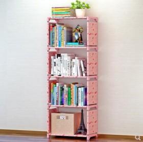 多功能简易书架书柜置物架创意组合层架子落地儿童书橱