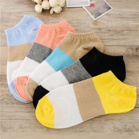 女袜子春夏上新女隐形袜托多款可选纯棉袜子女士 吸汗