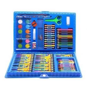 儿童水彩笔绘画套装可洗彩色笔画画彩铅画笔蜡笔油画棒
