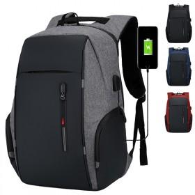 双肩包男士背包商务休闲旅行背包防盗旅游包女大中学生