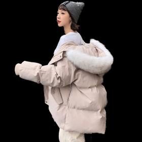 棉衣女装冬季装加厚ins面包服学生宽松棉袄服外套潮