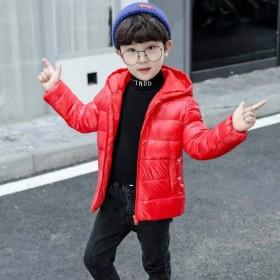 儿童羽绒服中小童短款童装男女童羽绒服宝宝加厚冬外套