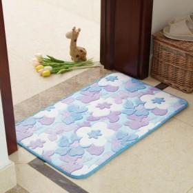 浴室吸水墊廁所地墊門口地板踩腳墊子衛生間門墊防滑家