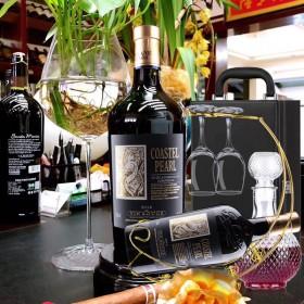 法国进口红酒干型伯爵干红葡萄酒750ml 2支特