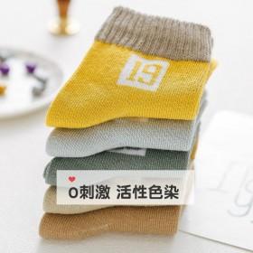 秋冬儿童袜子吸汗厚款保暖男童女童中大童学生宝宝中筒