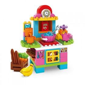 骏达隆积木拼装玩具DIY趣味迷你餐台