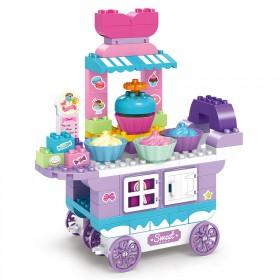 骏达隆积木拼装玩具男孩儿童宝宝益智大颗粒积木