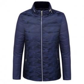 冬季男式棉衣 拉链商务休闲时尚防风保暖迷彩棉服31