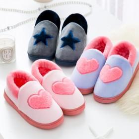 棉拖鞋女室内厚底2019冬季可爱卡通男士保暖家居家