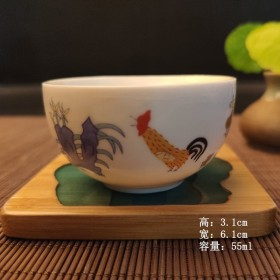 【限时抢购】鸡缸杯茶杯