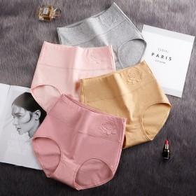95%纯棉 4条内裤女