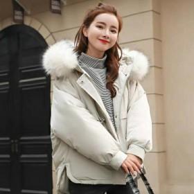 2019冬季新款羽绒棉服女韩版宽松加厚面包服