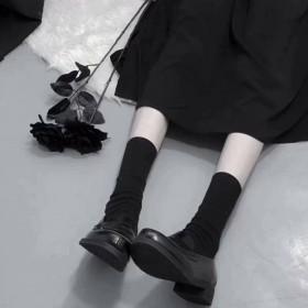 包邮】 新款2019可爱长筒学院风潮流袜子女韩版中