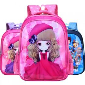 儿童书包小学生1-3年级6-10岁男生女孩卡通公主