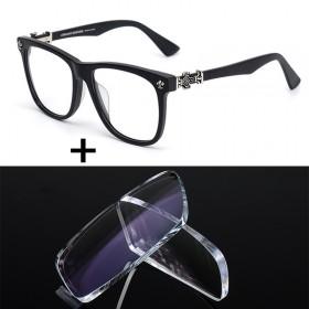 薛之谦同款眼镜框大黑框免费配600度以内镜片